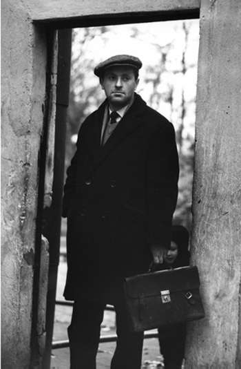 Joseph Brodsky, Leningrad, 1964. Photo by Lev Poliakov.