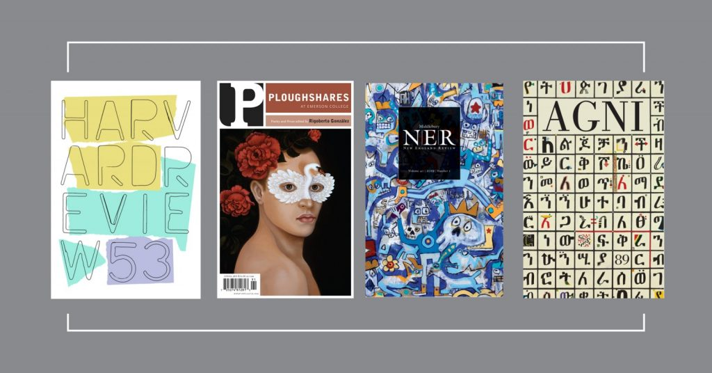 Four New England Lit Mags for One Price